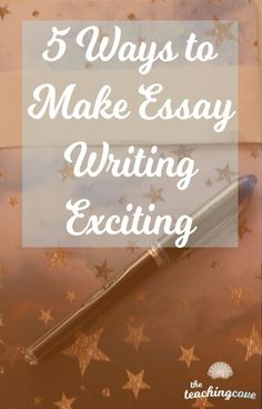 Looking for tips to Teach Essay Writing? 5 ways to teach Writing and make writing exciting for your students. Start with these tips and get your students excited about essays today! Writing Classes, Writing Workshop, Writing Skills, Essay Writing, Writing Prompts, Writing Lessons, Writing Tips, Teaching Grammar, Teaching Writing