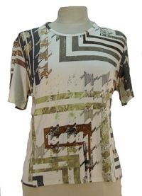 T-Shirt beige 5344 classique Gevana made in FRANCE