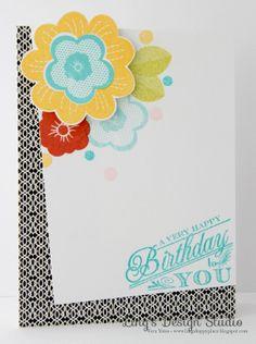 @Papertrey Ink birthday celebration. -  Ling's Design Studio