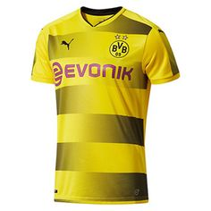Puma Youth Borussia Dortmund Soccer Jersey (Home 17/18): http://www.soccerevolution.com/store/products/PUM_40264_A.php