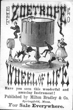 Newspaper ad for the Zoetrope