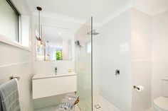 Renovations often tackle bathroom design flaws. Here are the before and after images of bathrooms transformed by Three Birds Renovations. Bird Bathroom, Bathroom Images, Three Birds Renovations, Timber Deck, Flat Ideas, Exterior Paint Colors, Home Reno, House Painting, Modern Rustic