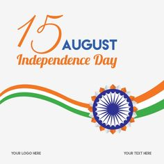 Bright indian independence day typography with chakra Vector and PNG Happy Independence Day India, Independence Day Decoration, Independence Day Quotes, Independence Day Background, Brush Effect, Brush Vector, Ashoka Chakra, Republic Day Indian, Banner Shapes
