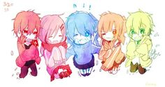 Kagerou Project chibi
