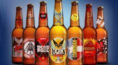 Rótulos de cerveja de super heróis | Etilicos.com