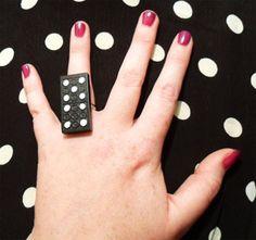 anillo de ficha de dominó.19bis.com