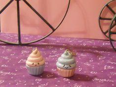 Ima Kawaii Mono   Kawaii face polymer clay cupcake   Online Store Powered by Storenvy