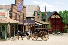 Ranch With a New 'Old West' Town - WSJ Two miles from their main house, the McDonnells built Rose City, a town of eight buildings designed to look as if it dates back to 1885.