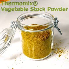 Vegetable Stock Powder for the Thermomix® Thermomix® Vegetable Stock Powder – TM Essentials Salad dressing in stock – APizza rolls / vegetable scww vegetable casserole Thermomix Recipes Healthy, Thermomix Soup, Cooking Recipes, Thermomix Desserts, Savoury Recipes, Pan Dulce, Challah, Croissants, Beignets