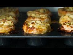 Mini Vanilla Apple Strudels - YouTube