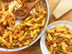 Rigatoni with Sausage and Peas in Vodka Sauce.  PS: This Video Recipe is now available on the Cooking with Nonna TV Channels available on: Roku TV, Apple TV, Amazon Fire and Android. Please search for the Cooking with Nonna channel on your TV platform and enjoy the show on your large TV screen!
