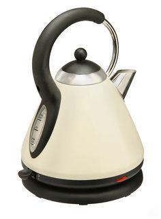 Cream Essentials Pyramid Kettle - essentials - Home, Lighting & Furniture Small Appliances, Kitchen Appliances, Kettle And Toaster, British Home, Smart Design, Home Lighting, Home Accessories, Tea Pots