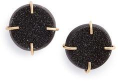 Women's Melissa Joy Manning Drusy Stone Earrings