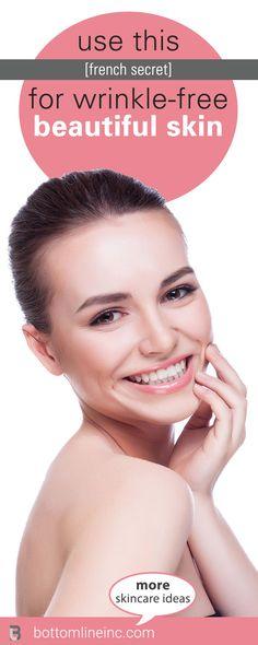 Milk Face Mask: French Secret For Getting Rid Of Wrinkles | #facemask #wrinkles #skincare #diyskincare #diy #bottomlineinc