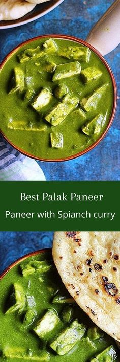 Palak paneer is the most popular paneer dish from  Indian cuisine. Paneer or Indian cottage cheese simmered in a creamy  flavorful palak gravy or spinach sauce.