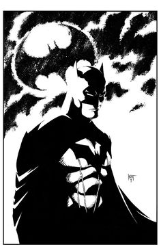 Batman by Ken Hunt * Batgirl, Catwoman, Nightwing, Dc Comics, Batman Comics, Comic Books Art, Comic Art, Hunting Art, I Am Batman