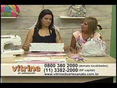 Bolsa Frasqueira com Renata Silva - Vitrine do Artesanato na TV - YouTube