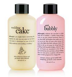 wedding cake&pink bubbly