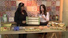 Vida Melhor - Artesanato: Cesta de pães em caixa de uva (Kelly Pires)