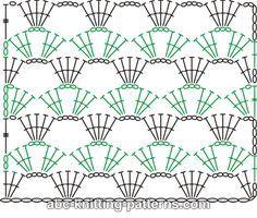 Marisabel crochet: Diagrama/punto para tejer