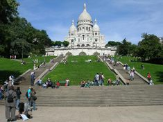 Basilica Sacré-Coeur, Paris, France. The place where I had one of the happiest moments in my life.