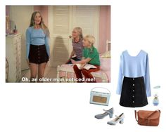 """""""Marcia Brady"""" by lolitadelrey ❤ liked on Polyvore featuring Vision, But Another Innocent Tale, Accessorize, lolita, nymphet, MarciaBrady and TheBradyBunch"""