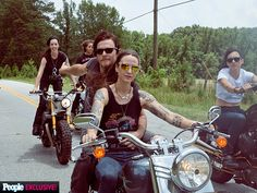 Star Tracks: Monday, July 13, 2015 | RIDE ALONG | Talk about a wild thing! Norman Reedus catches up with Harley-Davidson's Highway Runaways during the Atlanta leg of their 4,500-mile cross-country ride over the weekend.