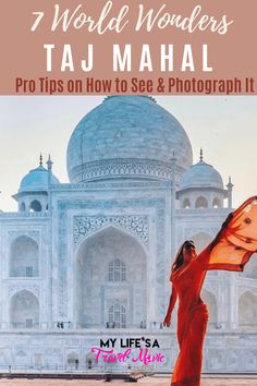 The Taj Mahal is one of the greatest works of art and one of my favorite of the New 7 Wonders of the World. But there's more to see than the typical front facade of the Taj Mahal! Check out these other 5 sides of the Taj Mahal, plus tips for photographing them, and getting shots with no other people!