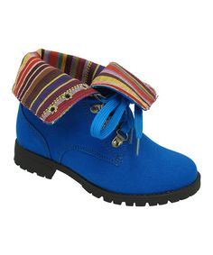 Take a look at this Navy Cool Boot by Yokids on #zulily today!