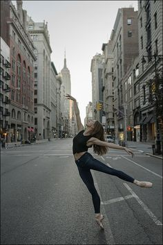 Isabella - 5th Avenue, New York City, Contour 360 Jeans by AG Jeans - The Ballerina Project