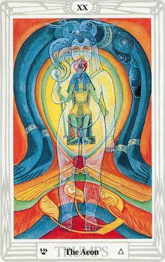 XX - Le jugement - Tarot Thoth par Aleister Crowley