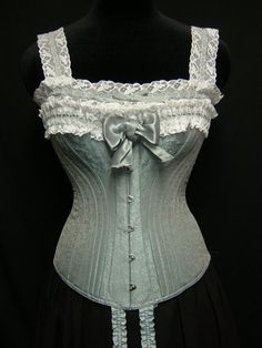 19th Century Corset Reenactment Victorian Era by PeriodCorsets