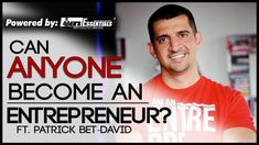 How To Be An Entrepreneur   Can Anyone Be an Entrepreneur?   Patrick Bet-David   Mayank Bhattacharya   More on Instagram - http://ift.tt/1wVZjWV  Mayank sits down with Patrick Bet-David. the CEO of PHP Agency Inc. and the host of Valuetainment for an in-depth series on entrepreneurship personal image and business.  This is the third episode of the series. Hope y'all enjoyed it!  Patrick's YouTube channel Valuetainment -   https://www.youtube.com/user/patrickbetdavid Patrick's Website…