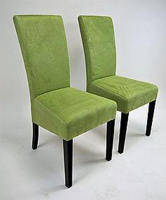 Krzesła model Jola tkanina  Alkantara