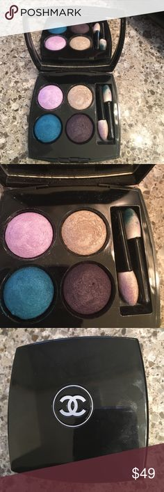 CHANEL eyeshadows Like new, used once to try on but not my colors, special for spring/summer CHANEL Makeup Eyeshadow