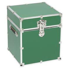 Storage Trunks For College Stanley Case Works Medium Lime Steel Storage Trunk  Dorm Room