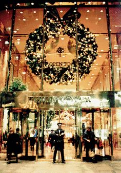 Trump Tower- this picture reminds me of shopping downtown Seattle with parents when I was a kid.   I loved that feeling of magic!