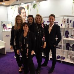 The Trade team  at The Jewellery & Watch Show Birmingham