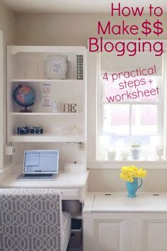 A must-read for bloggers: this how to make money blogging tutorial explains which blog networks to join, how to set pricing, and ways to organize your profit and expenses. It even has a downloadable money tracking spreadsheet. Pin now, read later!