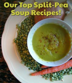 The weather is getting colder! Here's OUR TOP SPLIT PEA SOUP RECIPES!