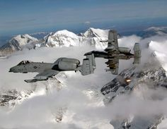 A-10 Thunderbolts from The Alaskan Air Command