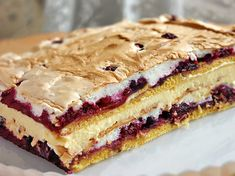 New Ideas breakfast cake recipes baking Romanian Desserts, Russian Desserts, Russian Recipes, Baking Recipes, Cake Recipes, Dessert Recipes, No Bake Desserts, Just Desserts, Breakfast Cake