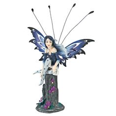 Found it at Wayfair - Azure, The Pepperwand Fairy Statue
