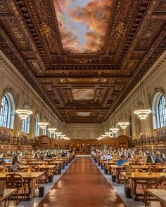 New York Public Library by @dario_nyc - The Best Photos and Videos of New York City including the Statue of Liberty, Brooklyn Bridge, Central Park, Empire State Building, Chrysler Building and other popular New York places and attractions.