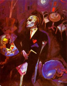 """""""Fit For Active Service"""" Along with Otto Dix , George Grosz was a key proponent of the New Objectivity in German art. Max Beckmann, Franz Marc, August Macke, Van Gogh, Ludwig Meidner, Karl Schmidt Rottluff, George Grosz, New Objectivity, Art History"""