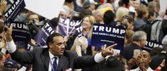 """Noticias ao Minuto - Trump é oficializado candidato  Republicano à Casa Branca   """"Amamos você, papai"""", disse um emocionado Donald Jr,. ao lado dos irmãos Eric, Ivanka e Tiffany, na convenção em Cleveland (Ohio)"""