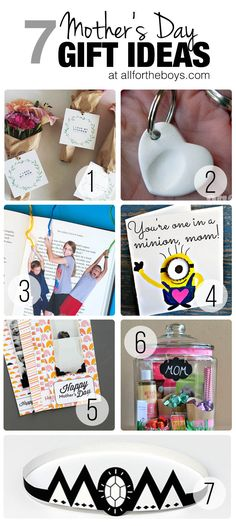7 easy DIY Mother's Day Gift Ideas for kids
