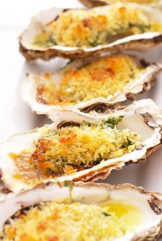 Oysters Florentine for those who don't go for raw oysters on the half shell