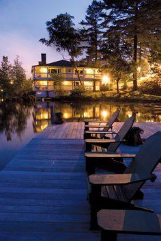 Mirror Lake Inn, Lake Placid.