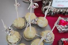 Ring cake pops for bridal shower :)